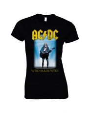 NAISTEN T-PAITA - WHO MADE WHO - AC/DC (LF8231)