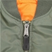 ALPHA MA-1 PILOTTITAKKI -  Bomber Jacket (oliivinvihreä)