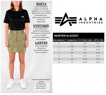 NAISTEN LEGGINGSIT - RBF Tape Leggings - ALPHA INDUSTRIES