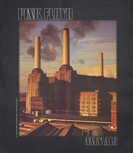 JUMBO PATCH - ANIMALS - PINK FLOYD (LF7106)