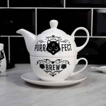 TEE SETTI - PURRFECT BREW: TEA FOR ONE (ATS4) - ALCHEMY
