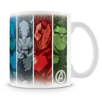 Muki - THE AVENGERS HEROES COFFEE MUG
