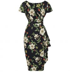 KYNÄMEKKO - ELSIE DRESS  AUTUMN FLORAL - LADY VINTAGE