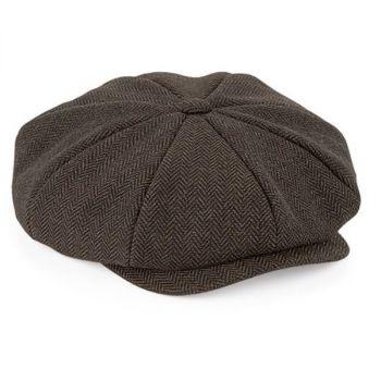 Heritage Baker Boy Cap BROWN