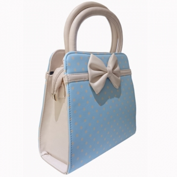 KÄSILAUKKU - Carla Bag BABY BLUE - BANNED