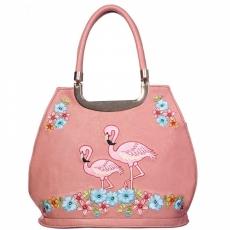 KÄSILAUKKU -  Flamingo Handbag - BANNED