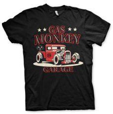 Gas Monkey Garage - Texas Rod T-paita - Musta (GMG010)