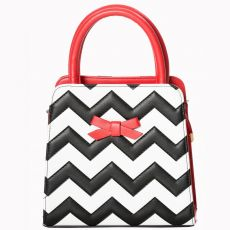 KÄSILAUKKU - SMALL CHEVRON BAG - BANNED