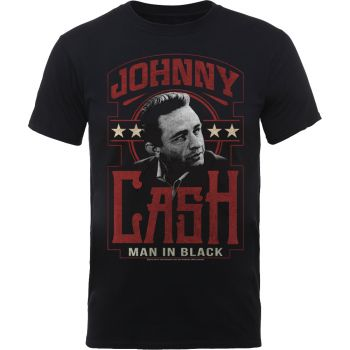 T-PAITA - JOHNNY CASH - MAN IN BLACK