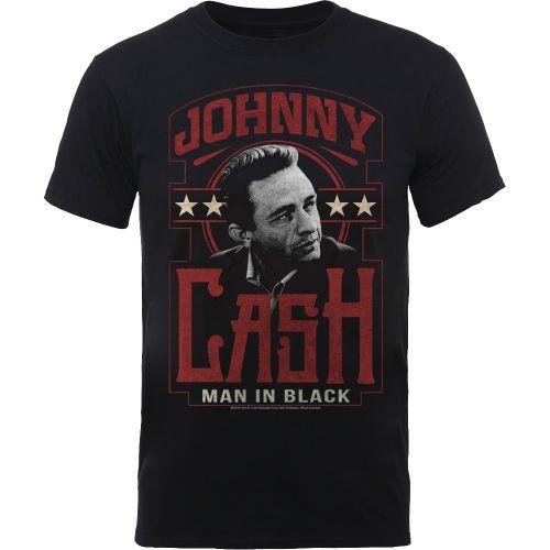 T-PAITA - JOHNNY CASH - MAN IN BLACK