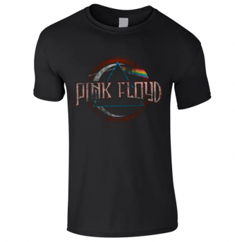 LASTEN T-PAITA - DARK SIDE OF THE MOON MODERN LOGO - PINK FLOYD (LF8483)