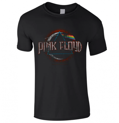 LASTEN T-PAITA - DARK SIDE OF THE MOON MODERN LOGO - PINK FLOYD (LF8483)