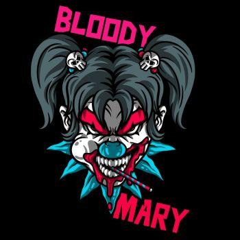 T-PAITA musta - BLOODY MARY