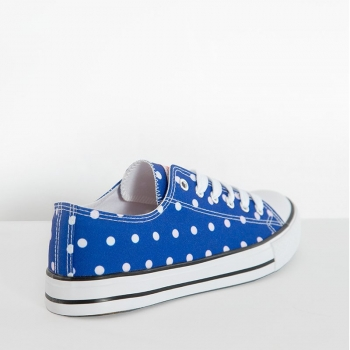 TENNARIT - Cobalt Blue Polka