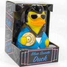 KUMIANKKA - CELEBRIDUCKS Blue Suede Duck