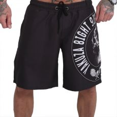 YAKUZA - Screaming Skull black - SHORTSIT
