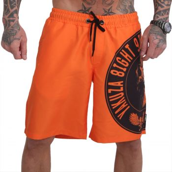 YAKUZA - Screaming Skull orange - SHORTSIT