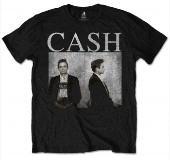T-PAITA - JOHNNY CASH - MUG SHOT