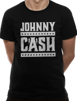 T-PAITA - JOHNNY CASH - SIMPLE LOGO (LF8446)