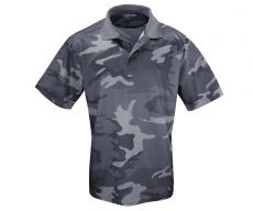 MIESTEN kauluspaita - Tactical Polo Shirt QuikDry darkcamo