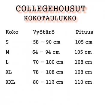 COLLEGEHOUSUT -2  LEIJONAA (87856)