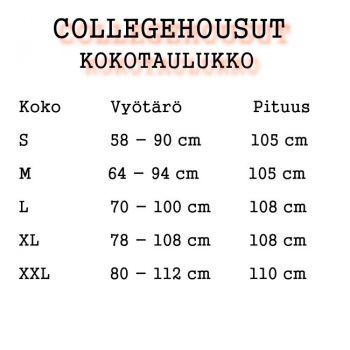 Collegehousu - Blue Tribal
