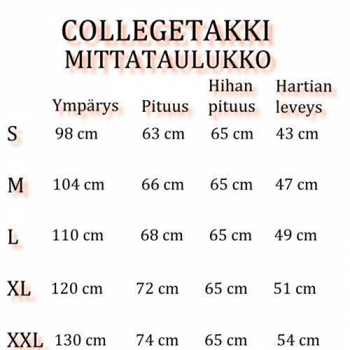 COLLEGETAKKI - Navy/Valk