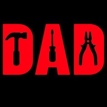 T-PAITA musta - TOOLS DAD