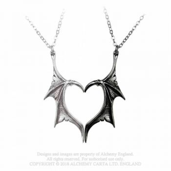 KAULAKORU - DARKLING HEART FRIENDSHIP PENDANTS - ALCHEMY (P851)