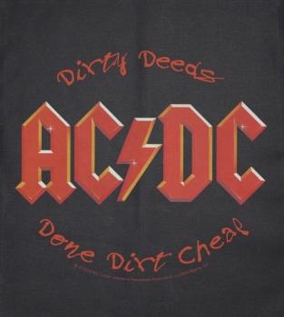 JUMBO PATCH - DIRTY DEEDS - AC/DC (LF7101)