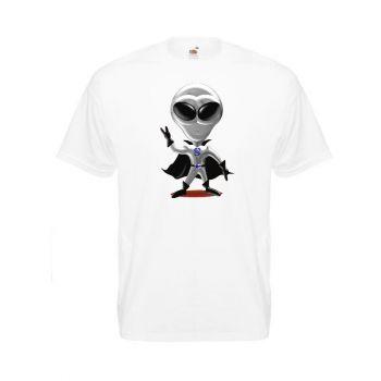T-paita valk. - STUNTMAN alien