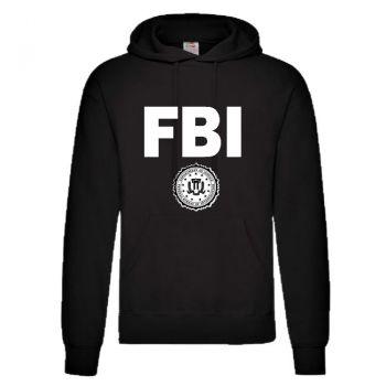 CLASSIC HUPPARI FBI musta