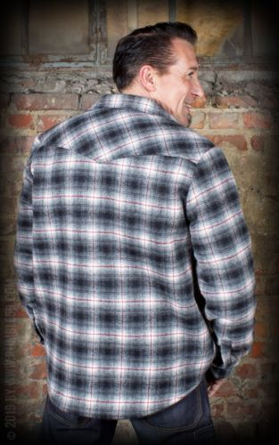 FLANELIPAITA - Winter Shadow Plaid Shirt - Idaho