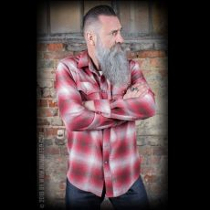 FLANELIPAITA suuret koot - Flannel Shadow Plaid Shirt