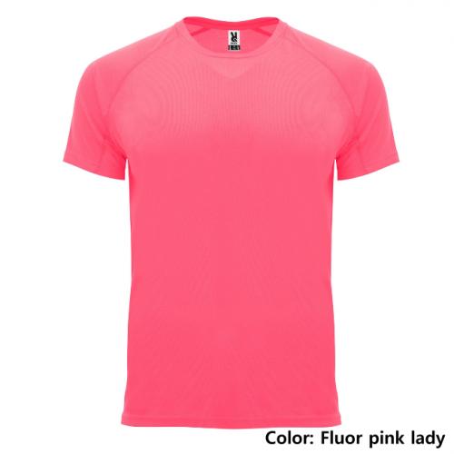 TEKNINEN T-PAITA ROLY    (Fluor pink Lady)