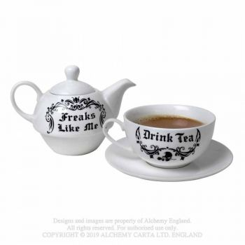 TEE SETTI - Freaks Like Me Drink Tea