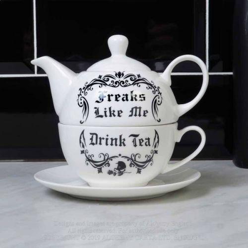 TEE SETTI - Freaks Like Me Drink Tea