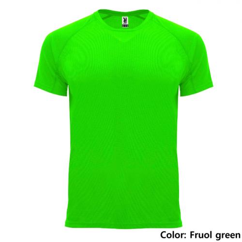 TEKNINEN T-PAITA ROLY    (Fluor green