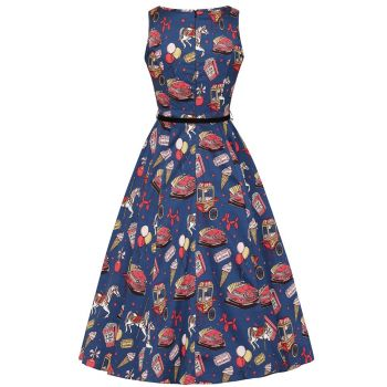KELLOMEKKO - HEPBURN DRESS - FUN & THE FAIRGROUND - LADY VINTAGE