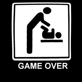 T- PAITA GAME OVER