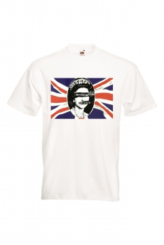 T-PAITA VALK. - SEX PISTOLS - GOD SAVE THE QUEEN FLAG (80A427)