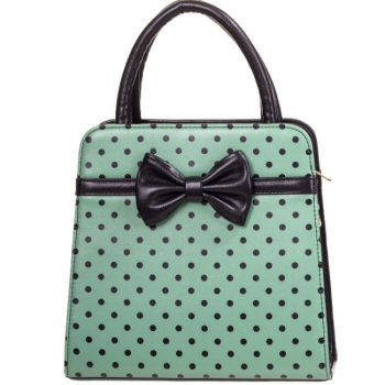 KÄSILAUKKU - Carla Bag Green/Black - BANNED