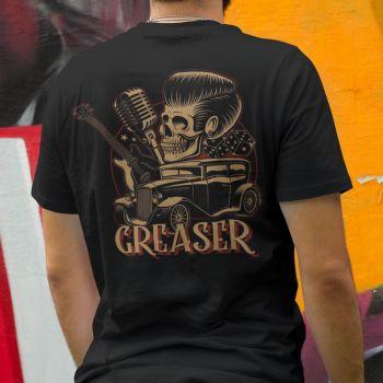 T-Paita - GREASER - SPEED KINGS