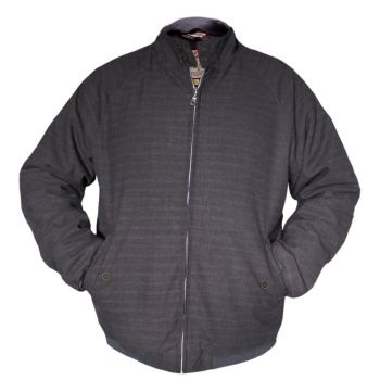 TAKKI - HARRINGTON QUILTED CHARCOAL