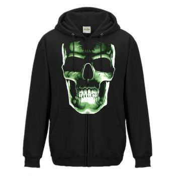 SUURILLE MIEHILLE ZOODIE - SKULL GREEN