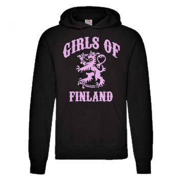 HUPPARI GIRLS OF FINLAND musta