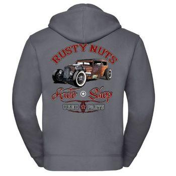 AUTHENTIC VETOKETJUHUPPARI  Convoy Grey - RUSTY NUTS (955)