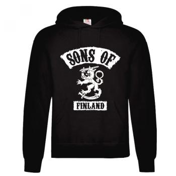 HUPPARI SONS OF FINLAND musta