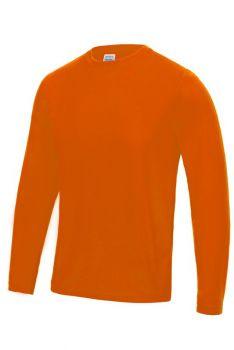 PITKÄHIHAINEN COOL T-PAITA Electric Orange