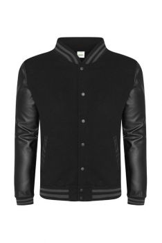 LETTERMAN BASEBALL COLLEGETAKKI Black - Black